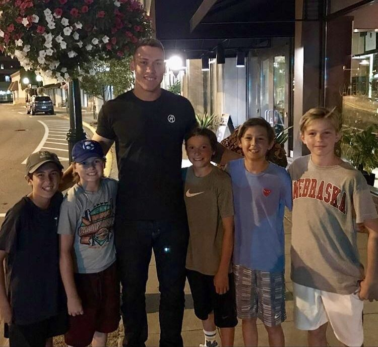 Aaron Judge — Baseball-babe: With Lil Fans