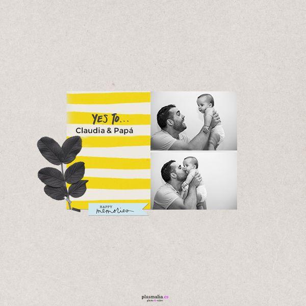 Álbum de bebé original y diferente