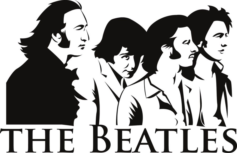 Beatles Vector V1 By Katala The Beatles Beatles Silhouette Beatles Art