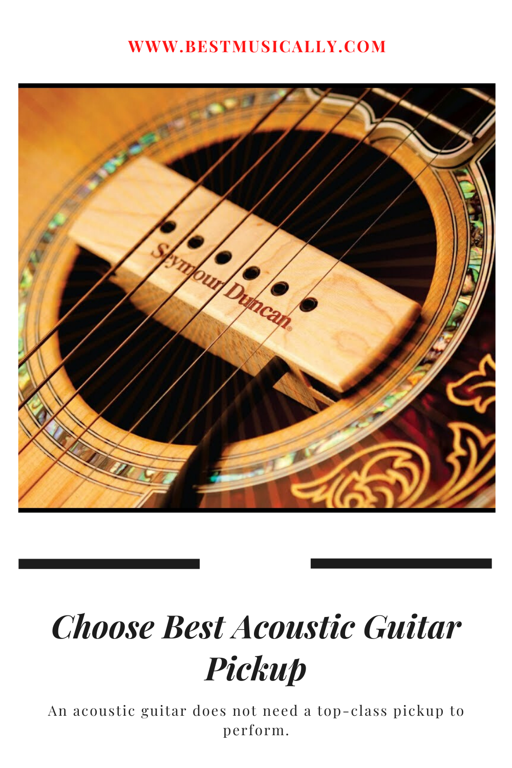 Why You Should Choose Best Acoustic Guitar Pickup Acoustic Guitar Pickups Best Acoustic Guitar Acoustic Guitar