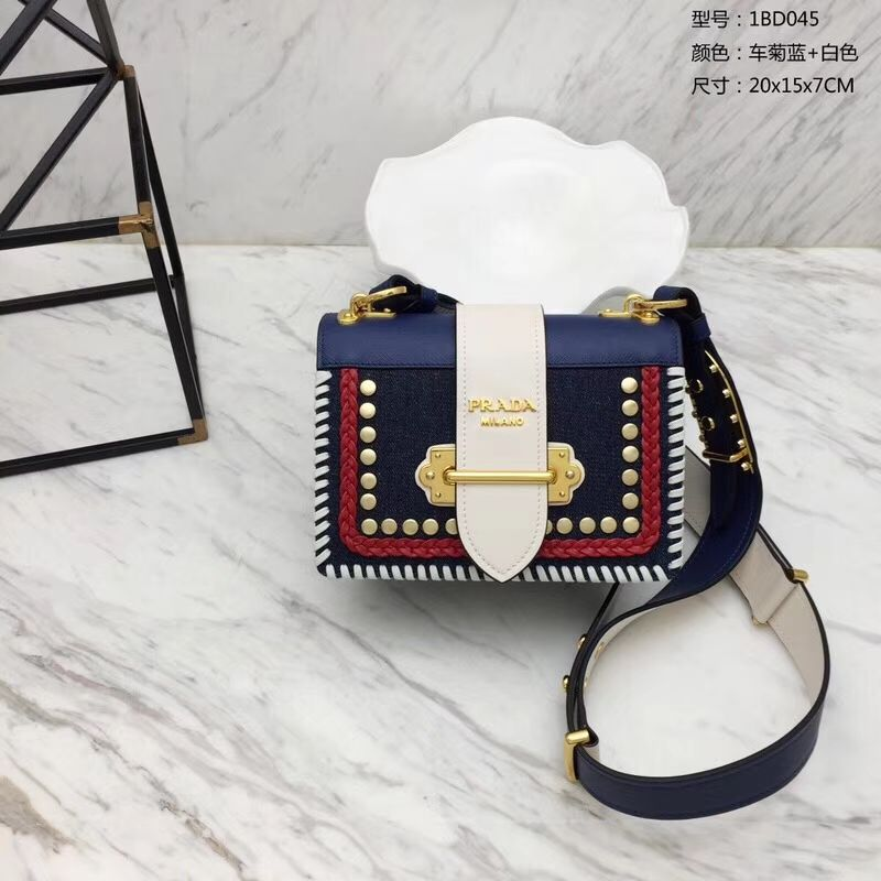 a0e61a9ead53 2.Prada-Cahier-Calf-Leather-Denim-Bag   Prada Handbags   Denim bag ...