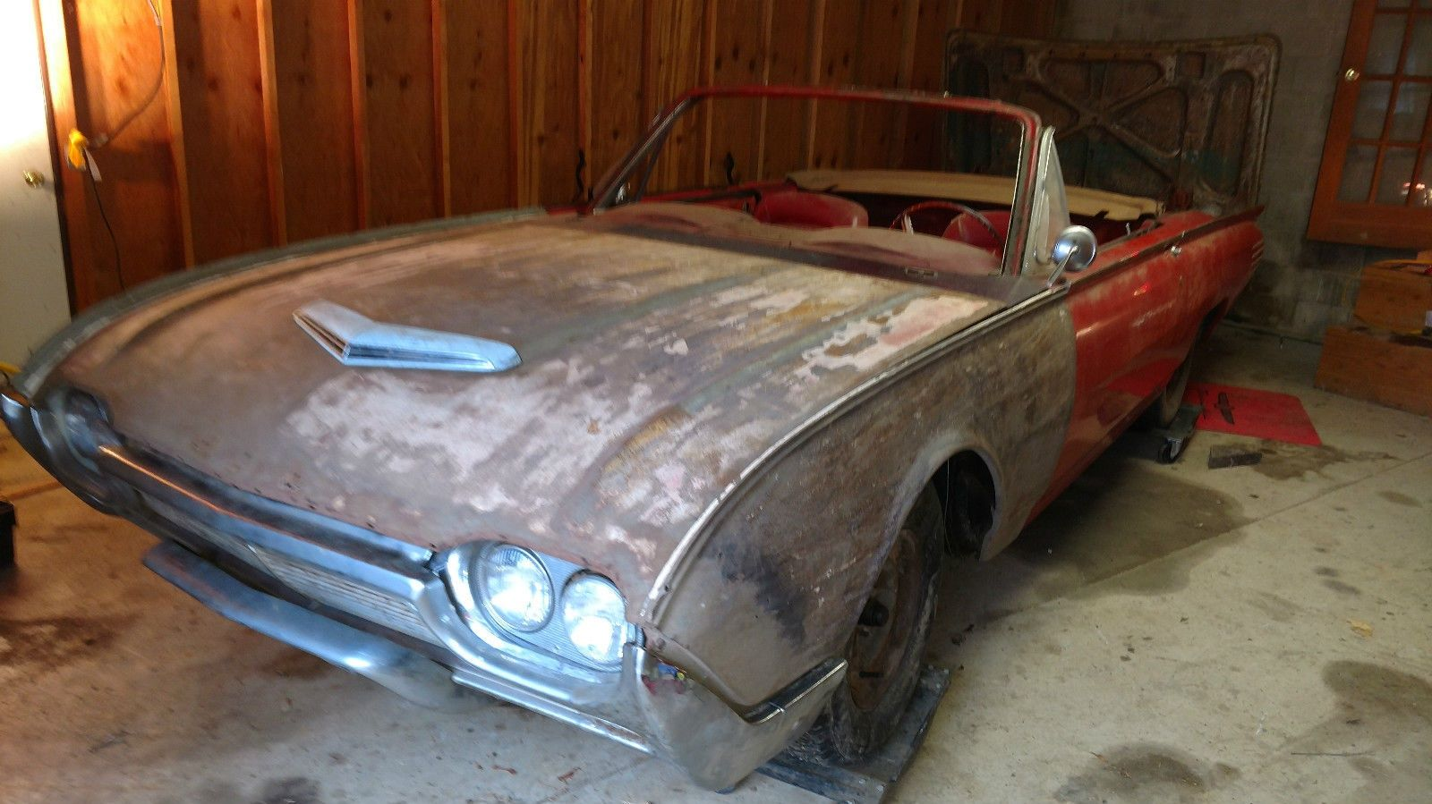 Unfinished Project: 1961 Ford Thunderbird Convertible | Ford ...
