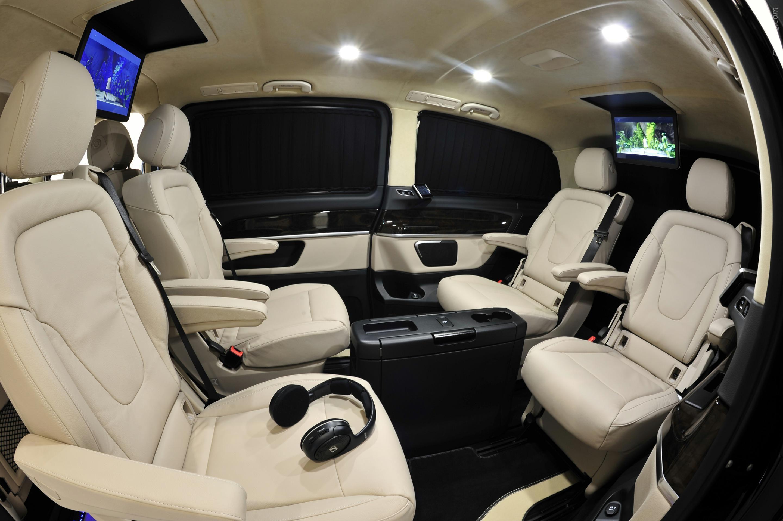 2015 Mercedes-Benz V-Class от ателье Brabus   Mercedes benz and Benz