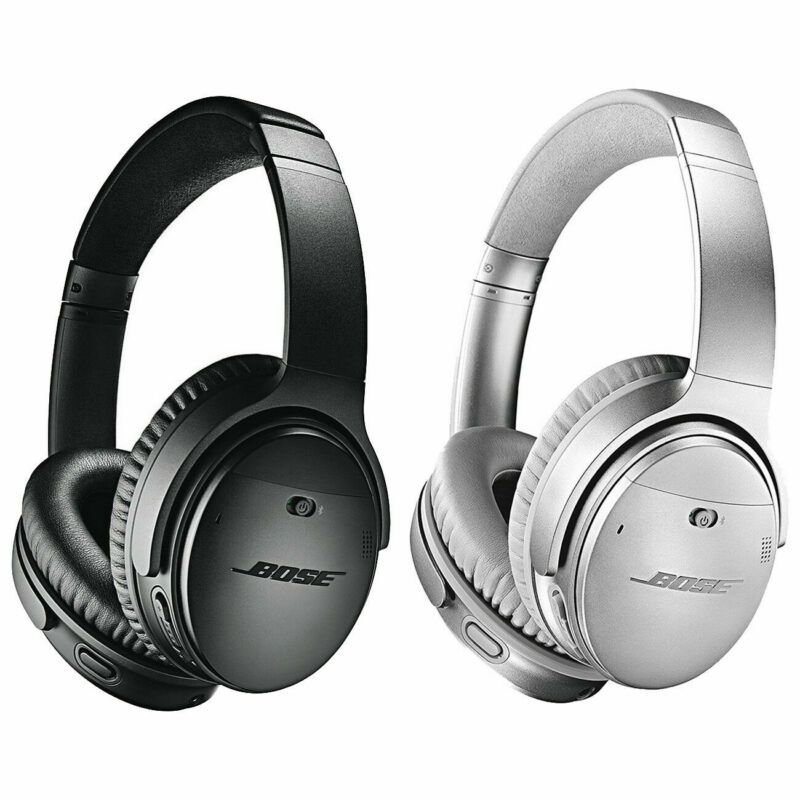 Brand Bose Earpiece Design Ear Cup Over The Ear Fit Design Headband Noise Cancelling Headphones Noise Cancelling Wireless Noise Cancelling Headphones