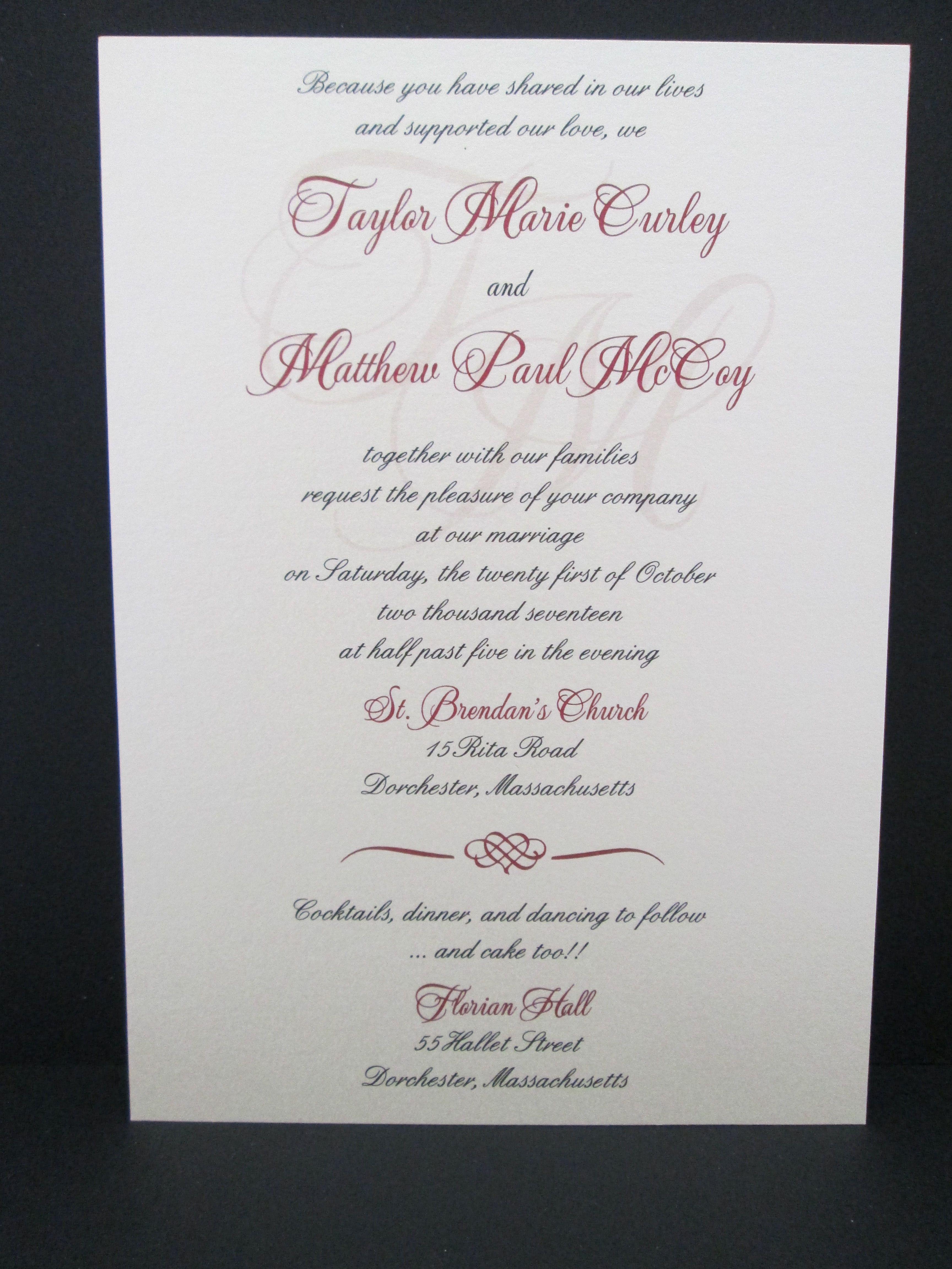 Burgundy Invitation Making Wedding Invitations Custom Day Pi: Pi Day Wedding Cards At Websimilar.org