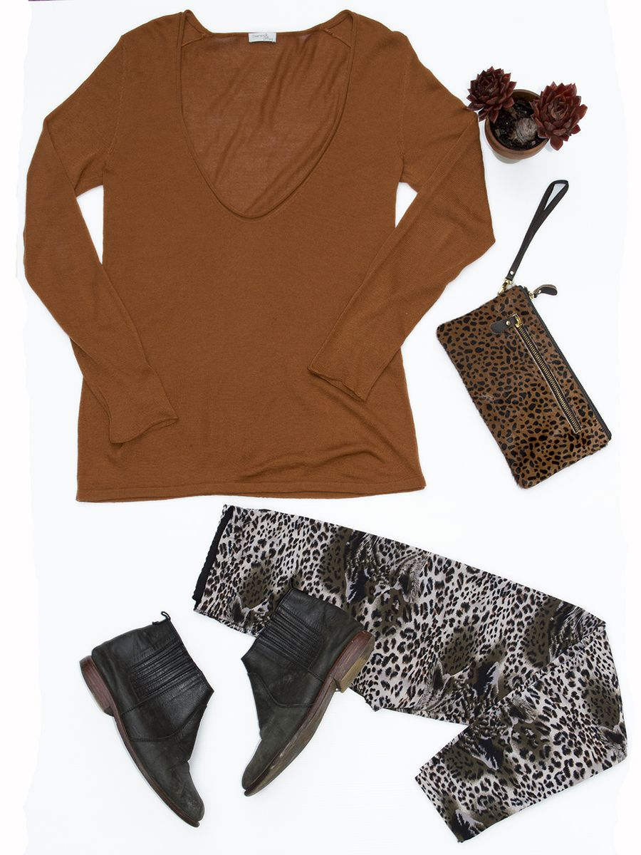 Pick of the day! Dreamcatcher V-neck jumper. Shop this look here: http://ow.ly/LyZmU