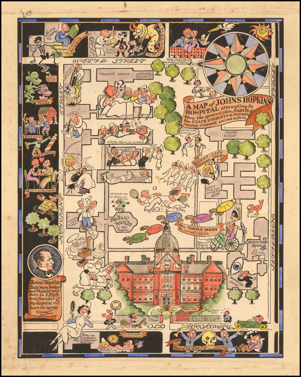 Johns Hopkins Hospital, Baltimore (1935) (With images