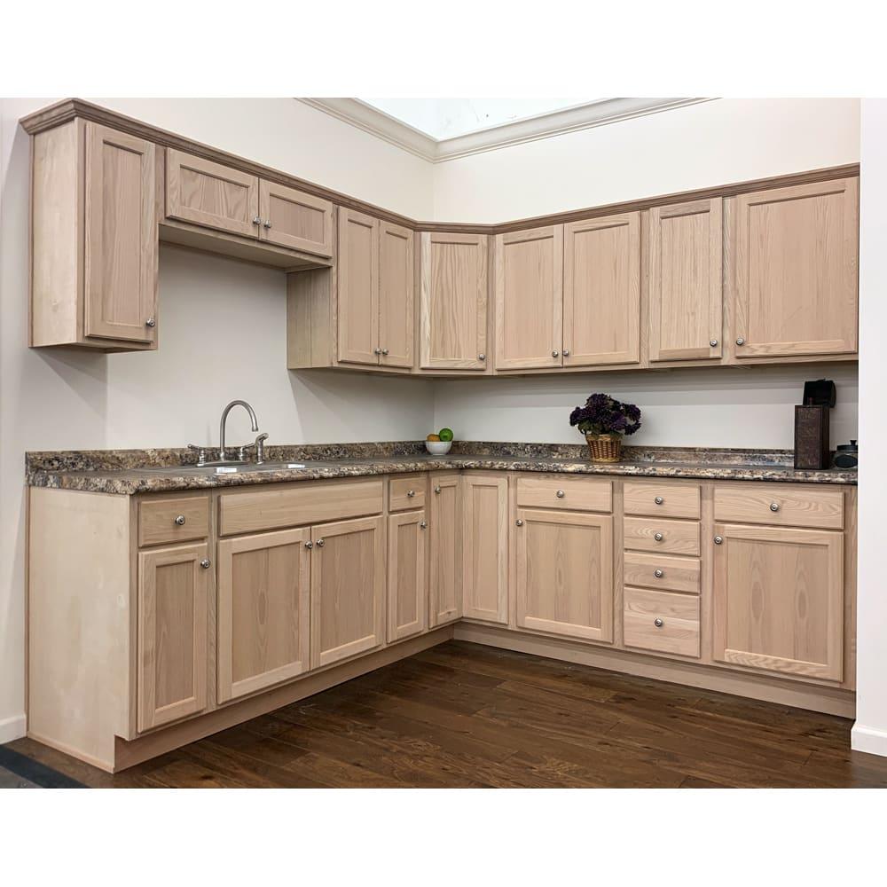 Unfinished Oak Cabinets Sku Cl0006 Home Outlet Unfinished Kitchen Cabinets Used Kitchen Cabinets Discount Kitchen Cabinets