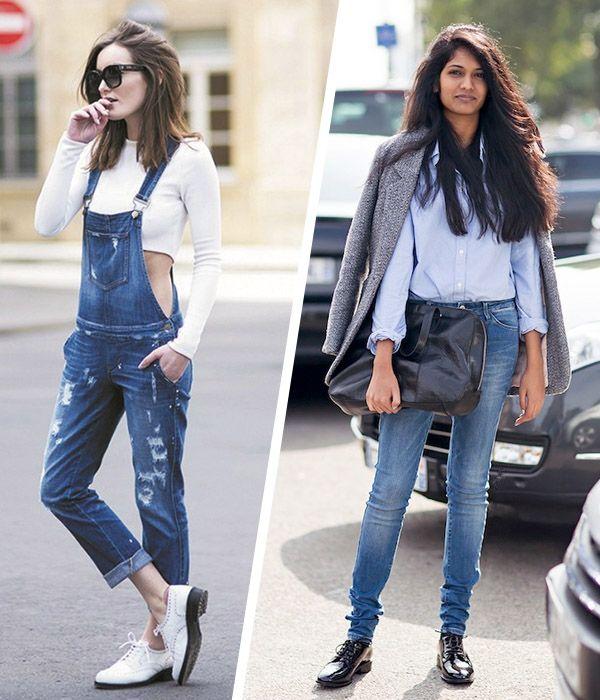 oxford-street-style-jardineira-jeans-denim-shirt