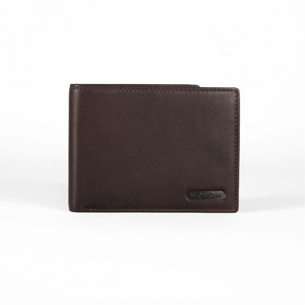 MOVOM Rectangle Coin Purse 12cm brown - 5674262 Brown