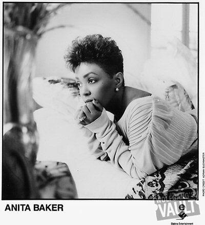 Anita Baker Vintage Concert Promo Print Rap Singers Gospel