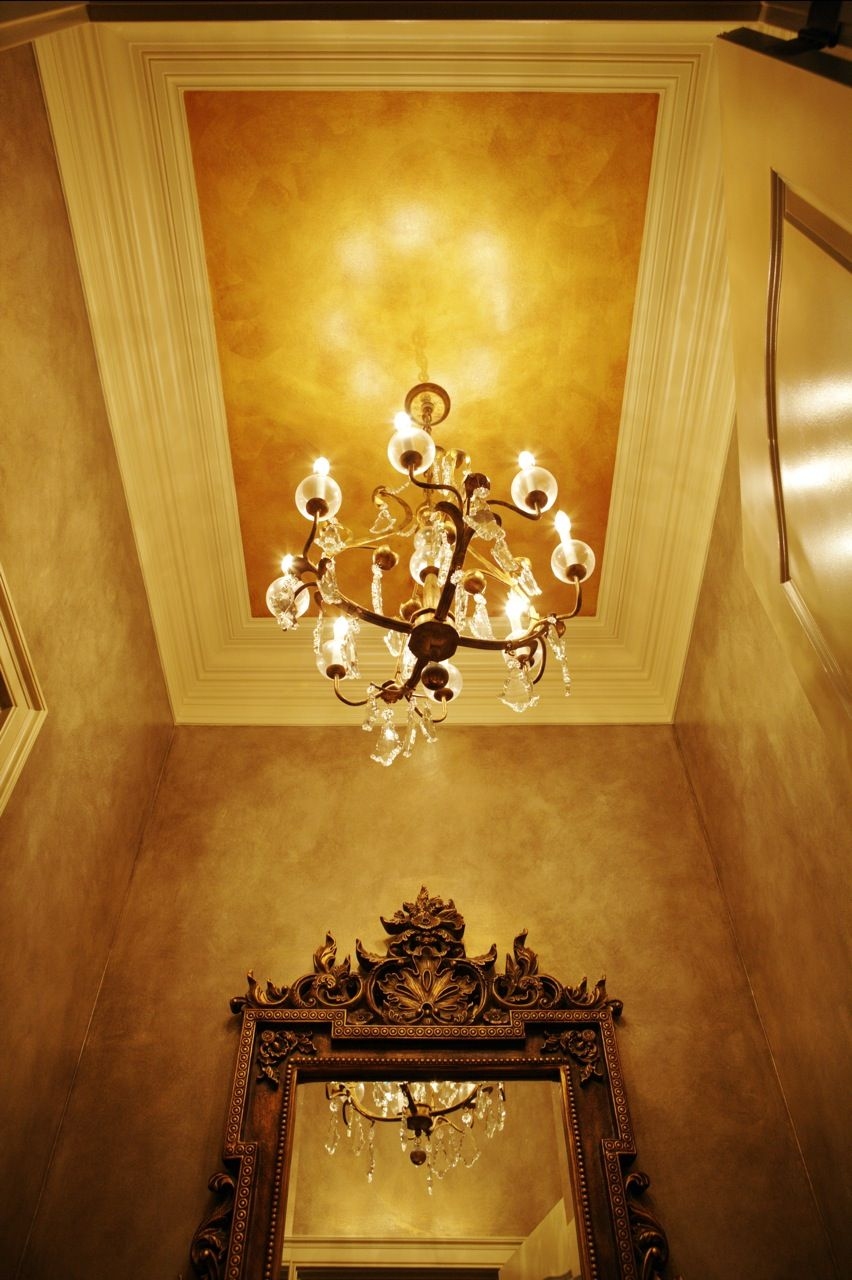 Wall and Ceiling Finishes Created by Lazenby\'s Decorative Arts ...