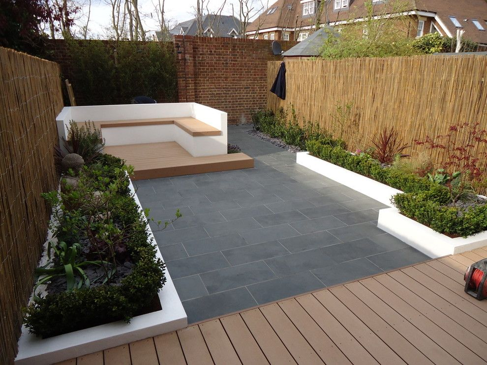 privacy fencing ideas landscape with brick garden wall on backyard garden fence decor ideas id=45458