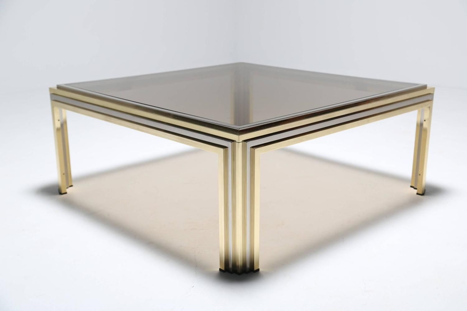 Mid Century Coffee Table In Glass Brass And Chrome Romeo Rega From A Unique Coll Mid Century Coffee Table Mid Century Glass Coffee Table Glass Coffee Table [ 1000 x 1500 Pixel ]