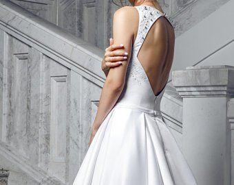 791f751a990dc satin skirt pocket embroidered lace wedding dress elegant classic ...
