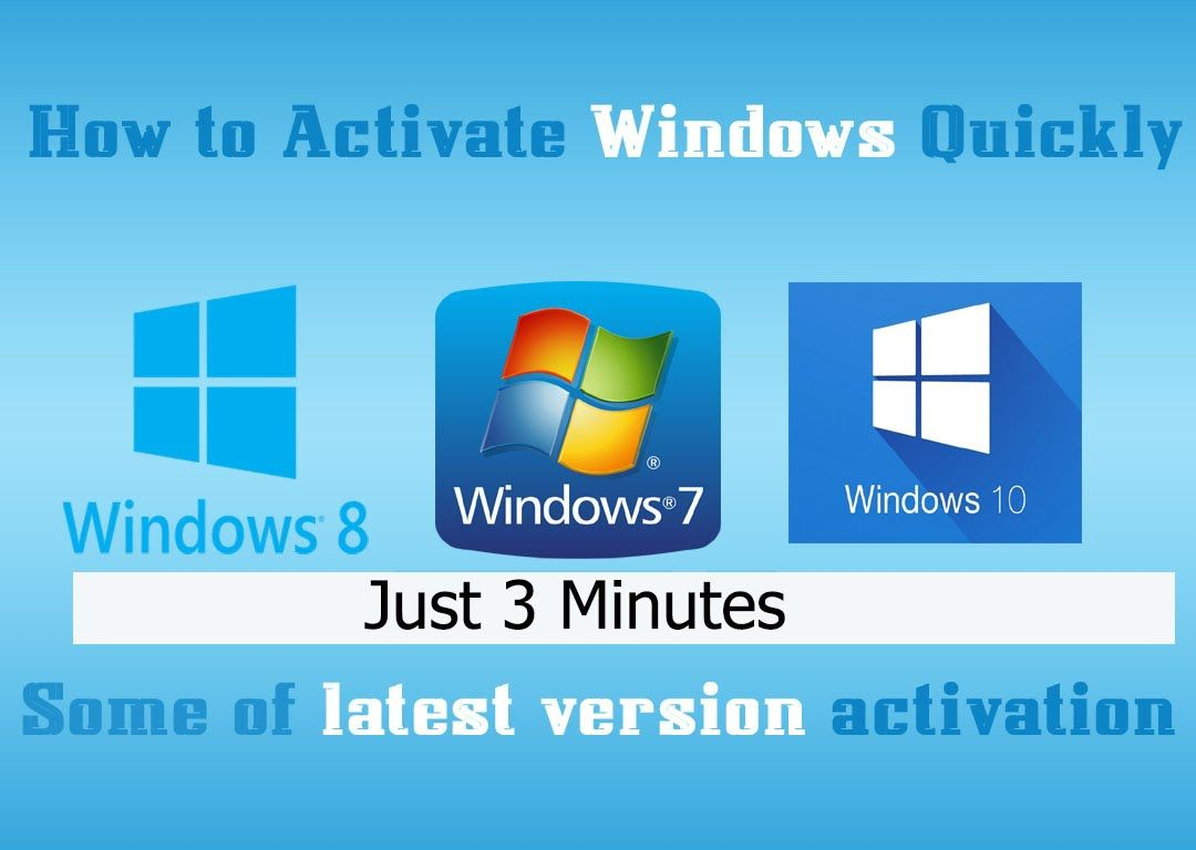 How to Permanently activate Windows [7/8/8.1/10] (100% working)