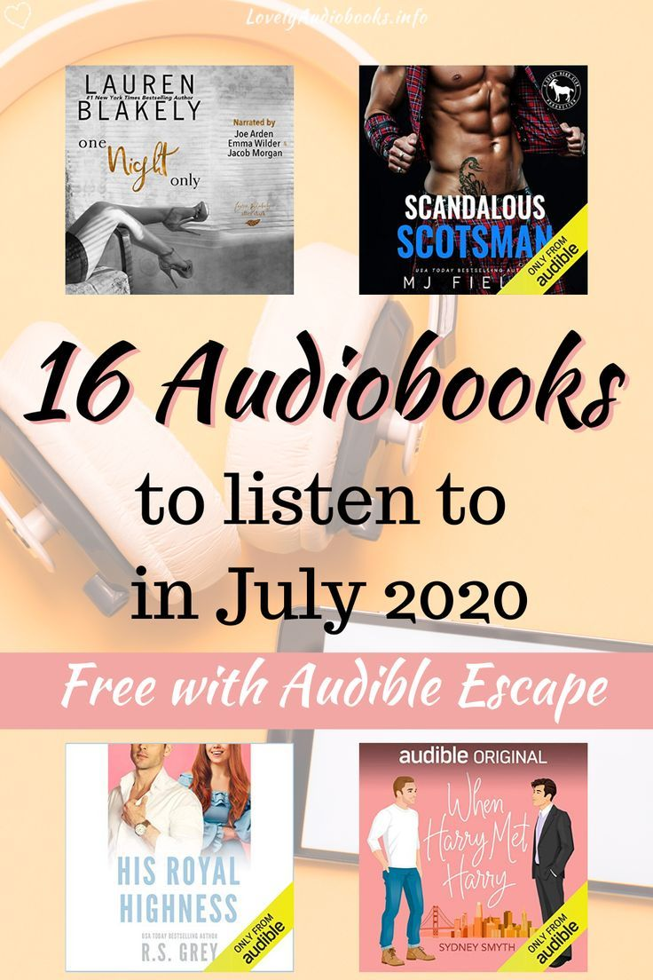 The 16 Best New Audiobooks in Audible Escape in 2020