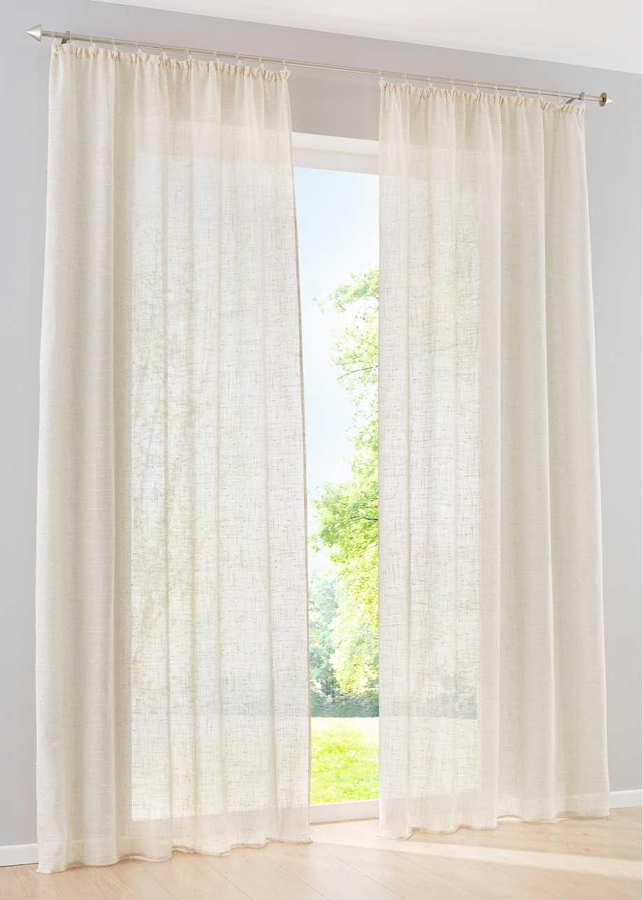 gardine bpc living gardinen und leinen. Black Bedroom Furniture Sets. Home Design Ideas