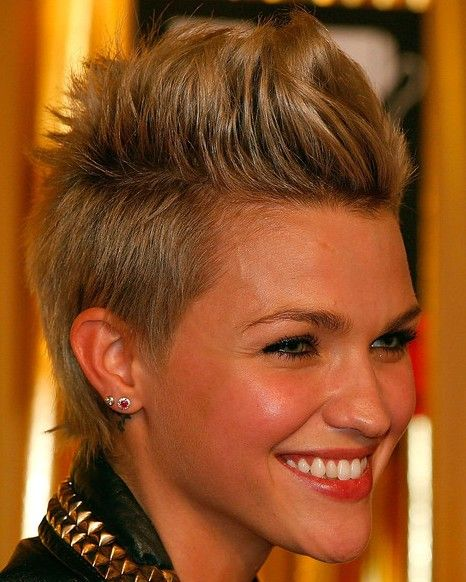 59 Best Faux Hawk Hairstyle Images On Pinterest: Best 25+ Girl Faux Hawk Ideas On Pinterest