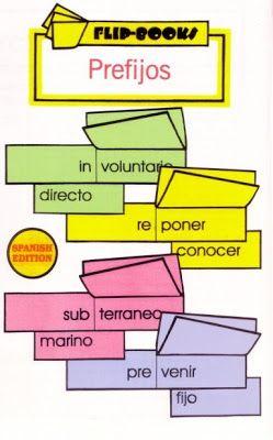 Los Prefijos Bilingual Teaching Spanish Teaching Resources Dual Language Classroom