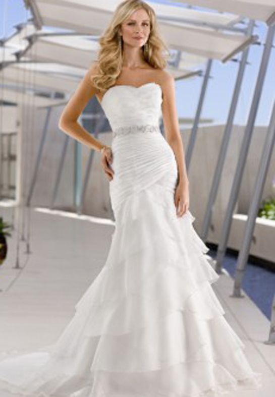 Tool Wedding Dresses 13 Slinky Mermaid Dress Silhouettes