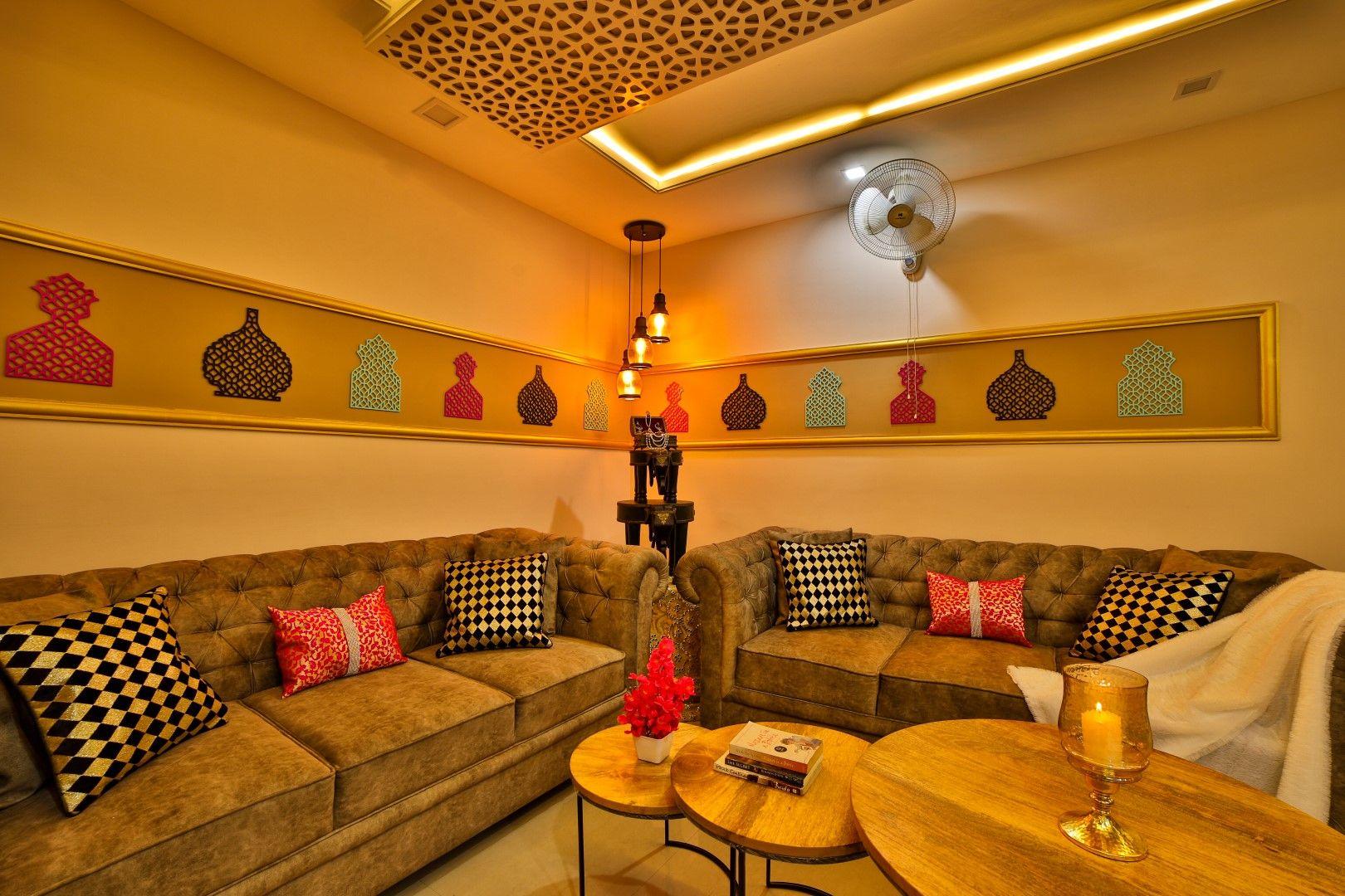 Rajasthani Moroccan Fusion Comes Alive Apartment Interior