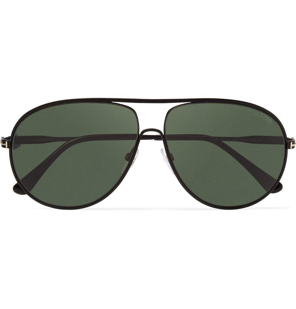 cf3196d70b Tom Ford - Cliff Aviator-Style Metal Polarised Sunglasses