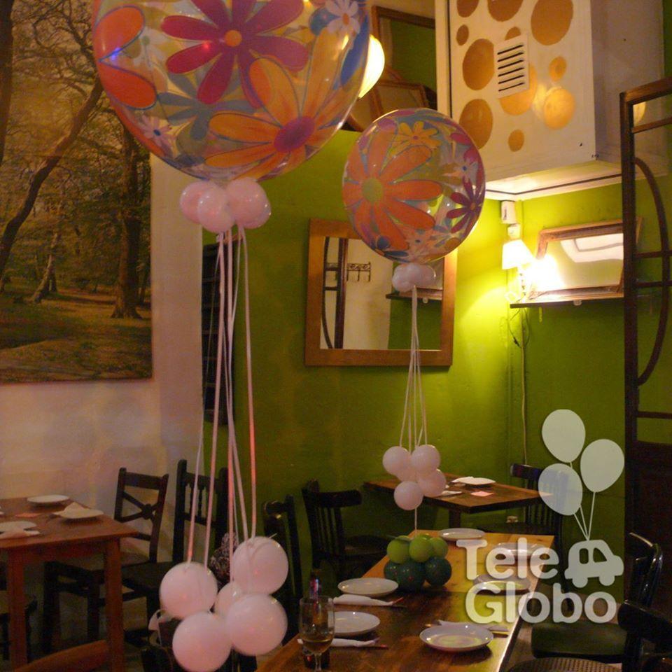 Decoracin con globos para 40 cumpleaos Decoraciones con globos