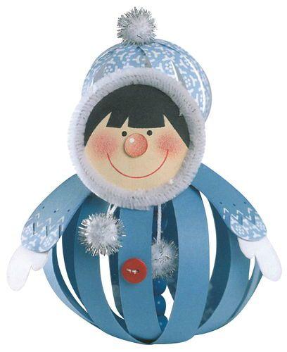 Pap rg mb kreat v weihnachten basteln winter s basteln - Papierkugeln basteln ...
