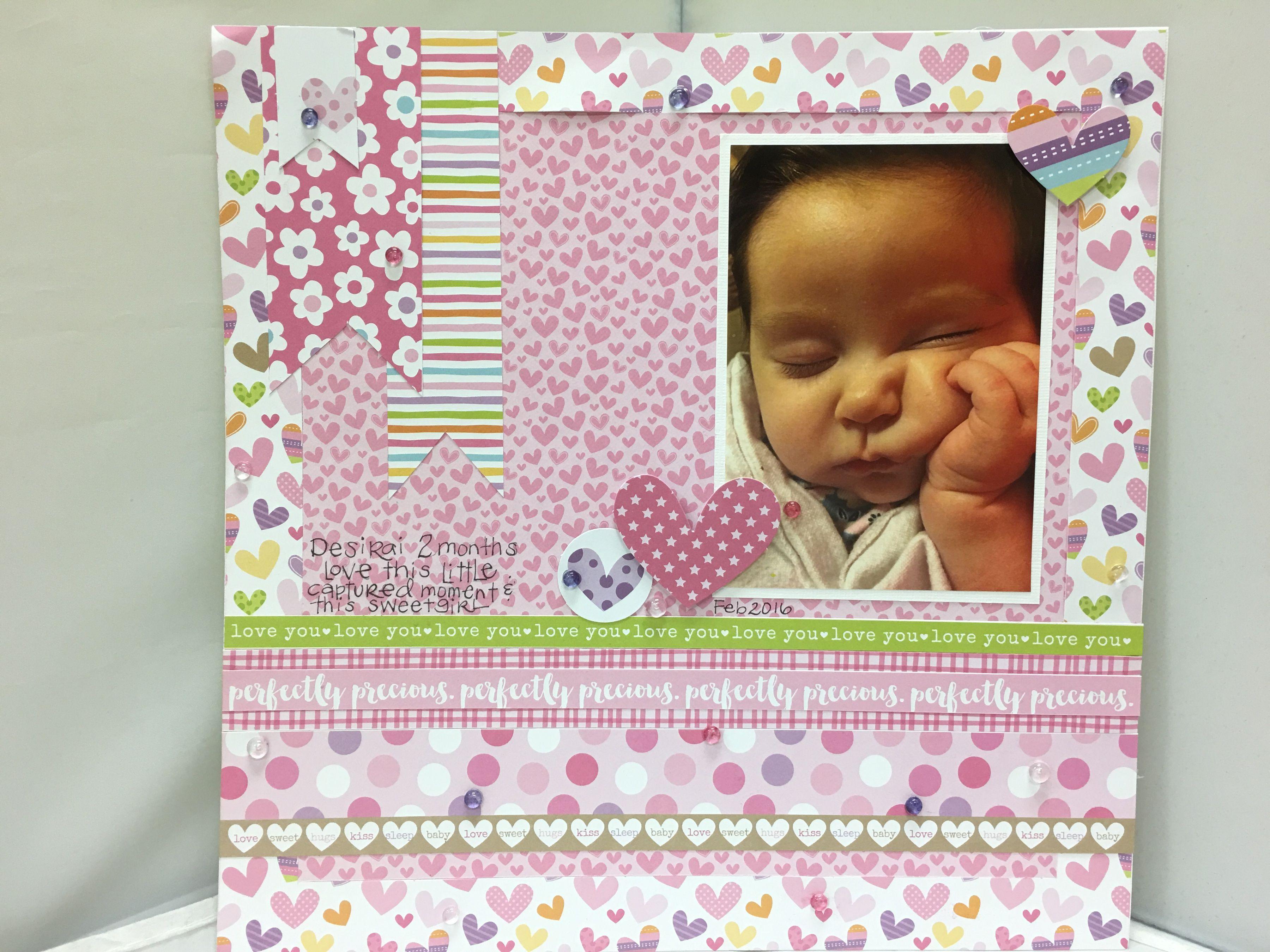 Perfectly+Precious+layout+featuring+Bella+Blvd - Scrapbook.com