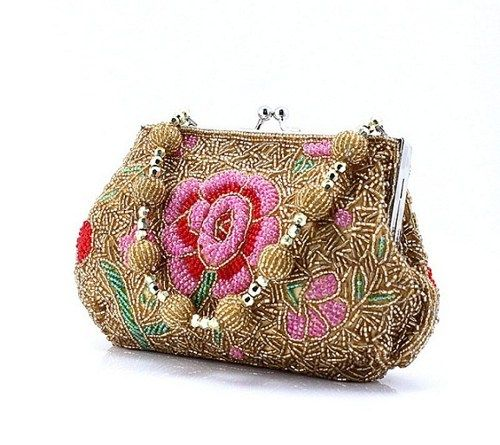 sequin hand-beaded beaded purses bag item no 54 | submiteasy2010 - Bags & Purses on ArtFire