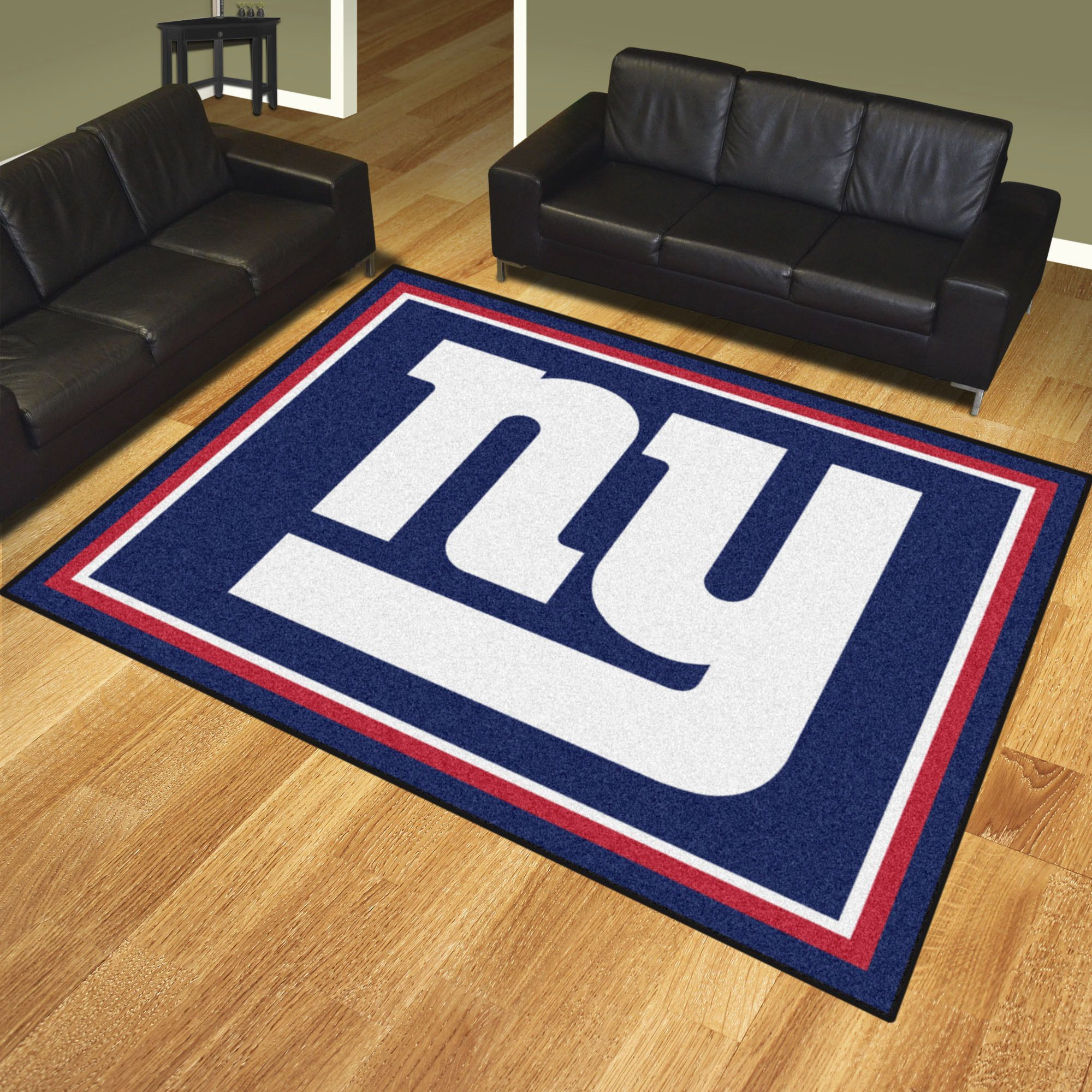 New York Giants 8x10 Rug Show your team pride and add style to