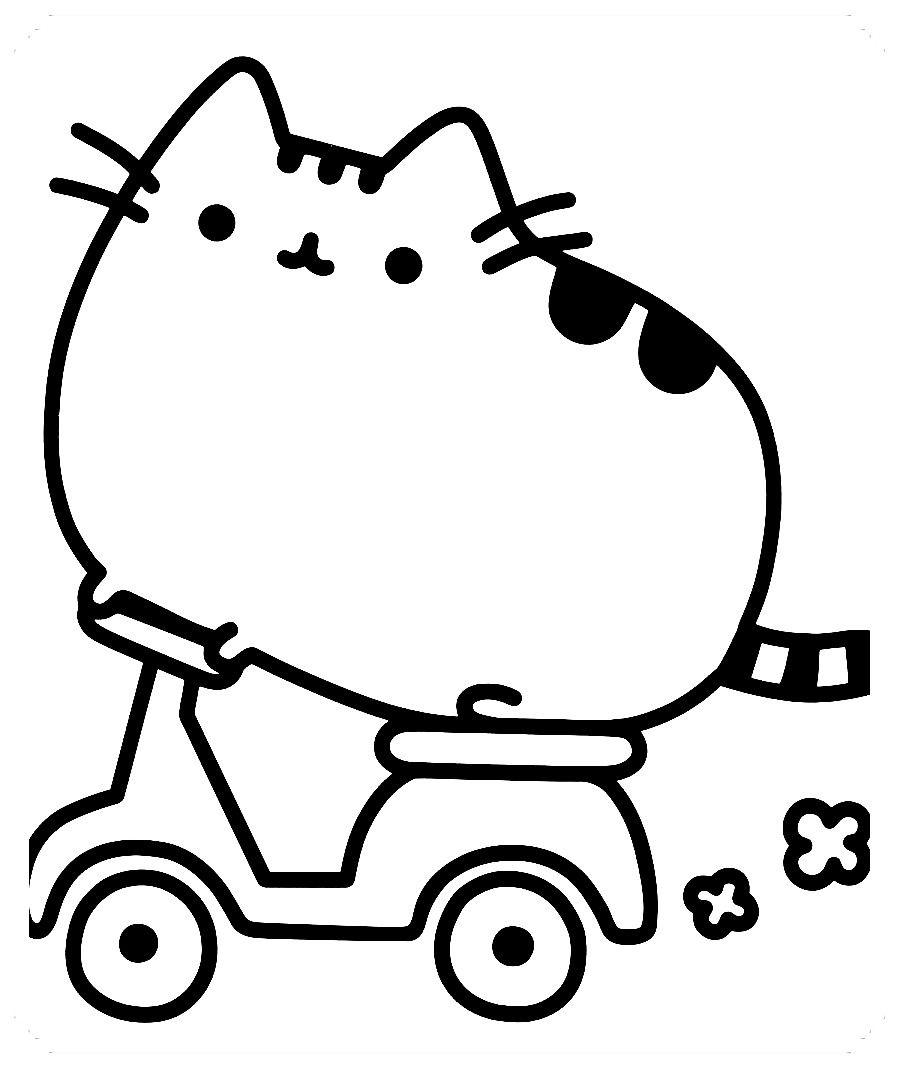 Pin En Dibujos De Gatos Para Colorear