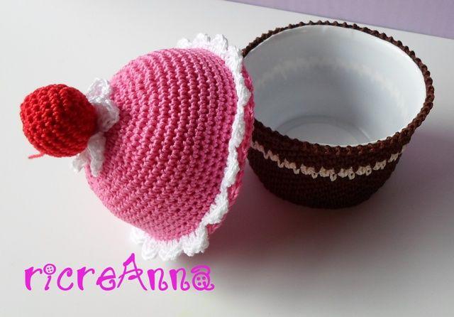 Tutorial cupcake crochet. (seconda parte)