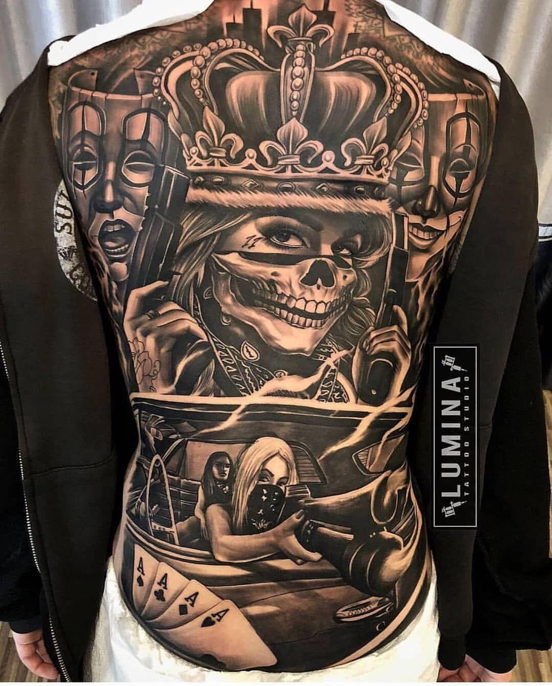 Pin by Ricky Wark on tattztodo Chicano tattoos sleeve