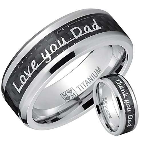 Men's Titanium Titanium rings, Jewelry, Tungsten wedding