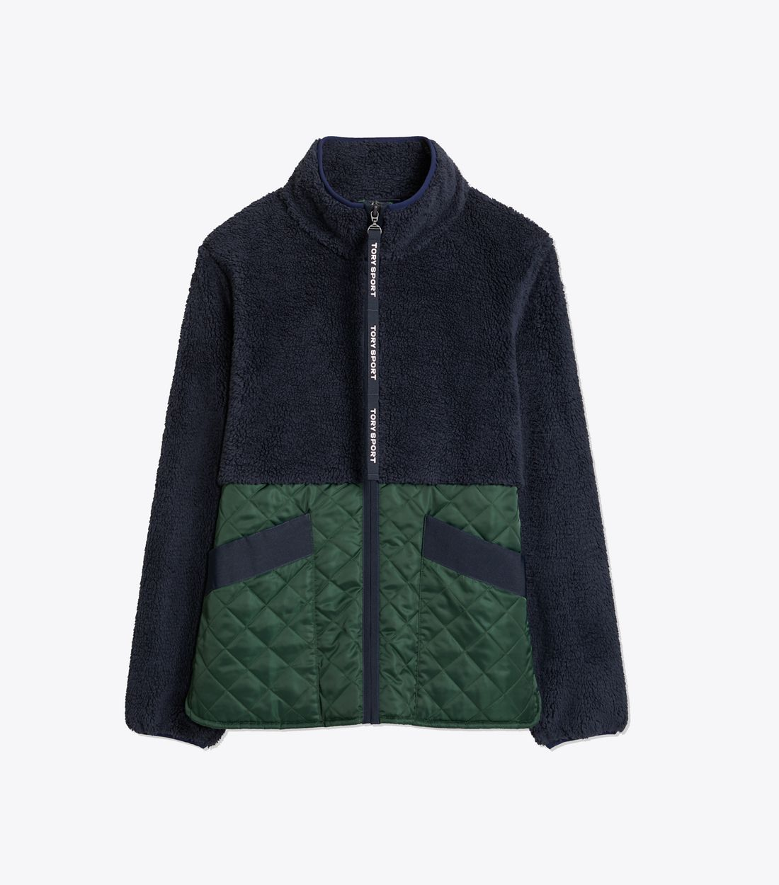Sherpa Fleece Quilted Jacket Quilted jacket, Sport