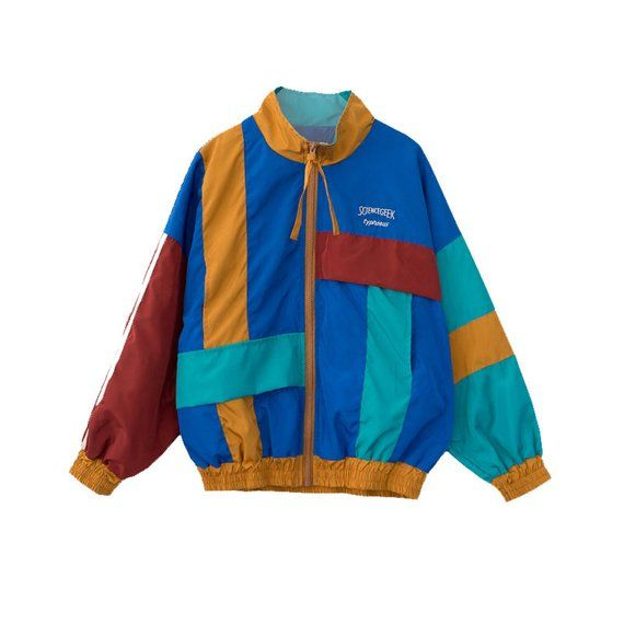 4caaeb1be Red Yellow Blue White Tommy Hilfiger Windbreaker Jacket Vintage 90s  Oversized XL | 90's lookbook in 2019 | Tommy hilfiger windbreaker, Tommy  hilfiger ...