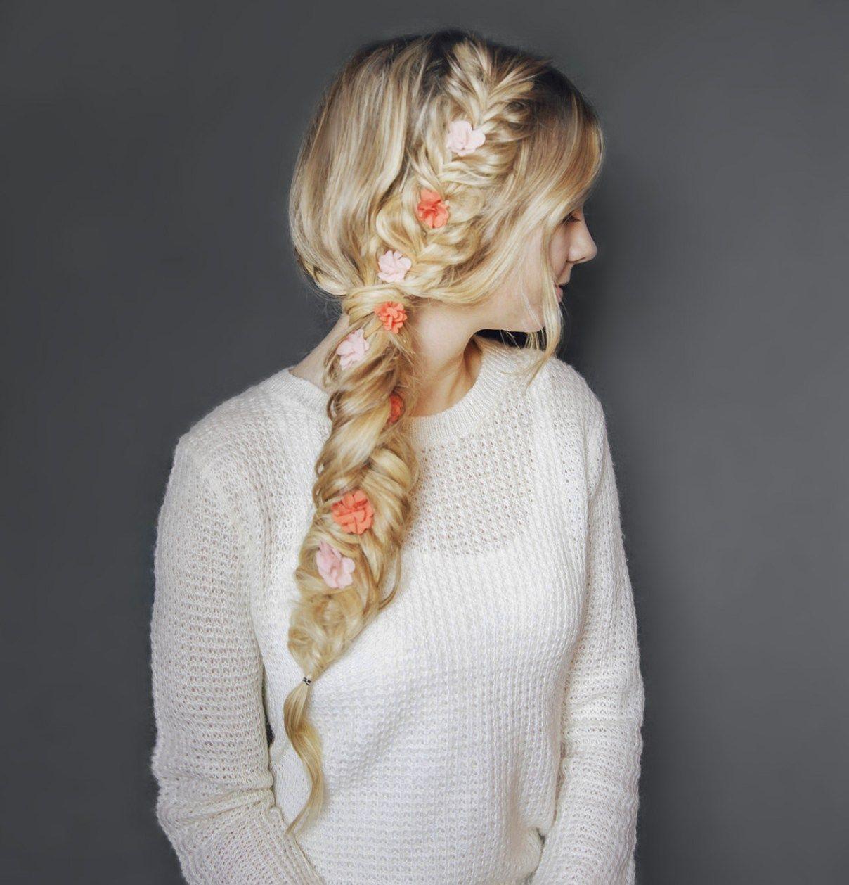15 GLORIOUS WAYS TO STYLE A FISHTAIL BRAID – My Stylish Zoo  #hairtype #men #women #faceshapes #hairtips #hair #elegant #girls #romantic #kimkardashian #kiss #longhair #fashion #Longhairstyles #weddingBraided # fishtail Braids with bangs # fishtail Braids updo