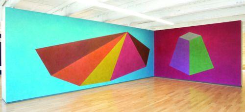 baja-baja:  Sol LeWitt Wall Drawings #439 and #527 1985  #art #abstract #minimal #geometric