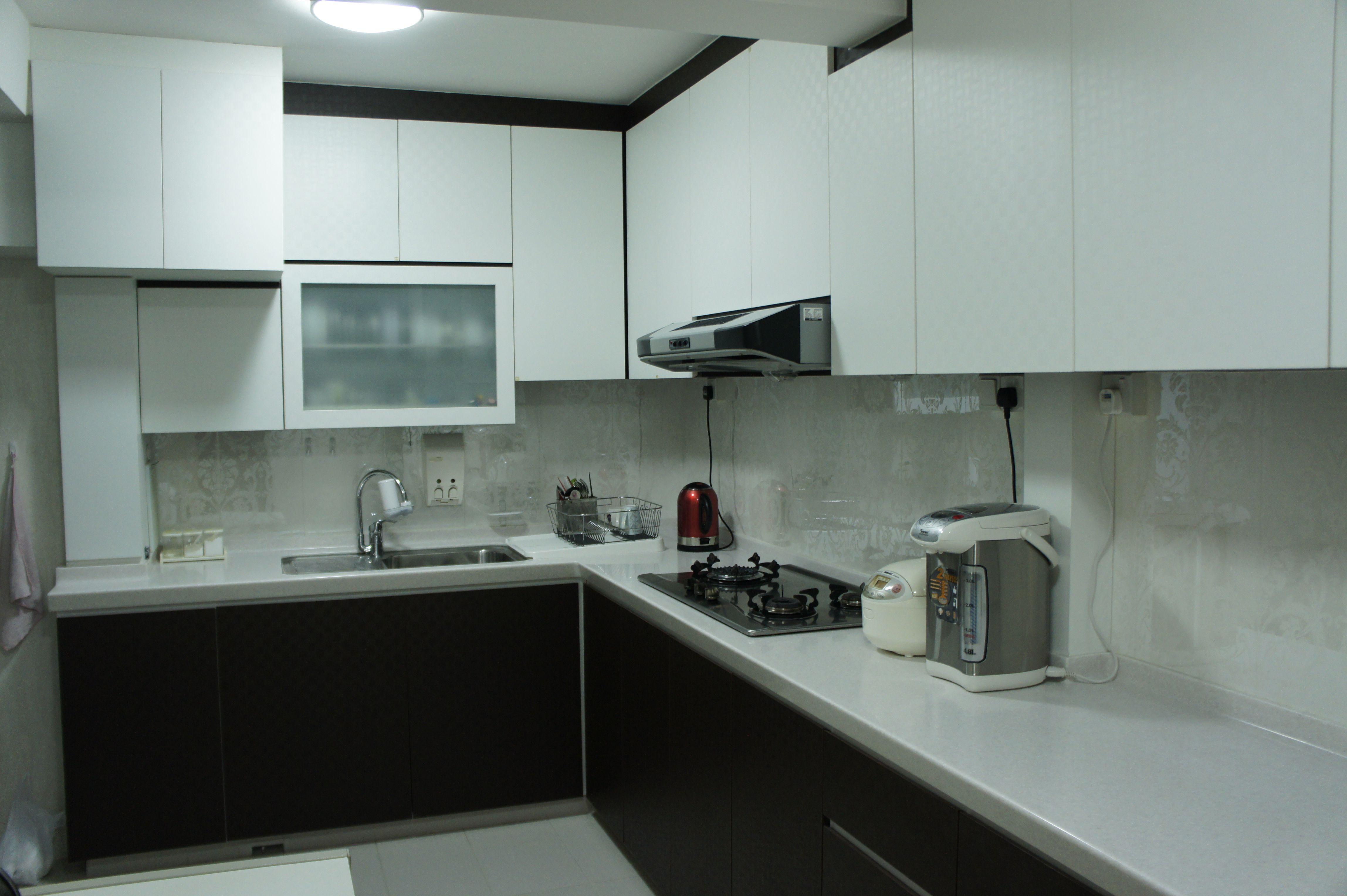 Renovation For Kitchens Hdb 5rm Kitchen Renovation Singapore Hdb Flat Renovations