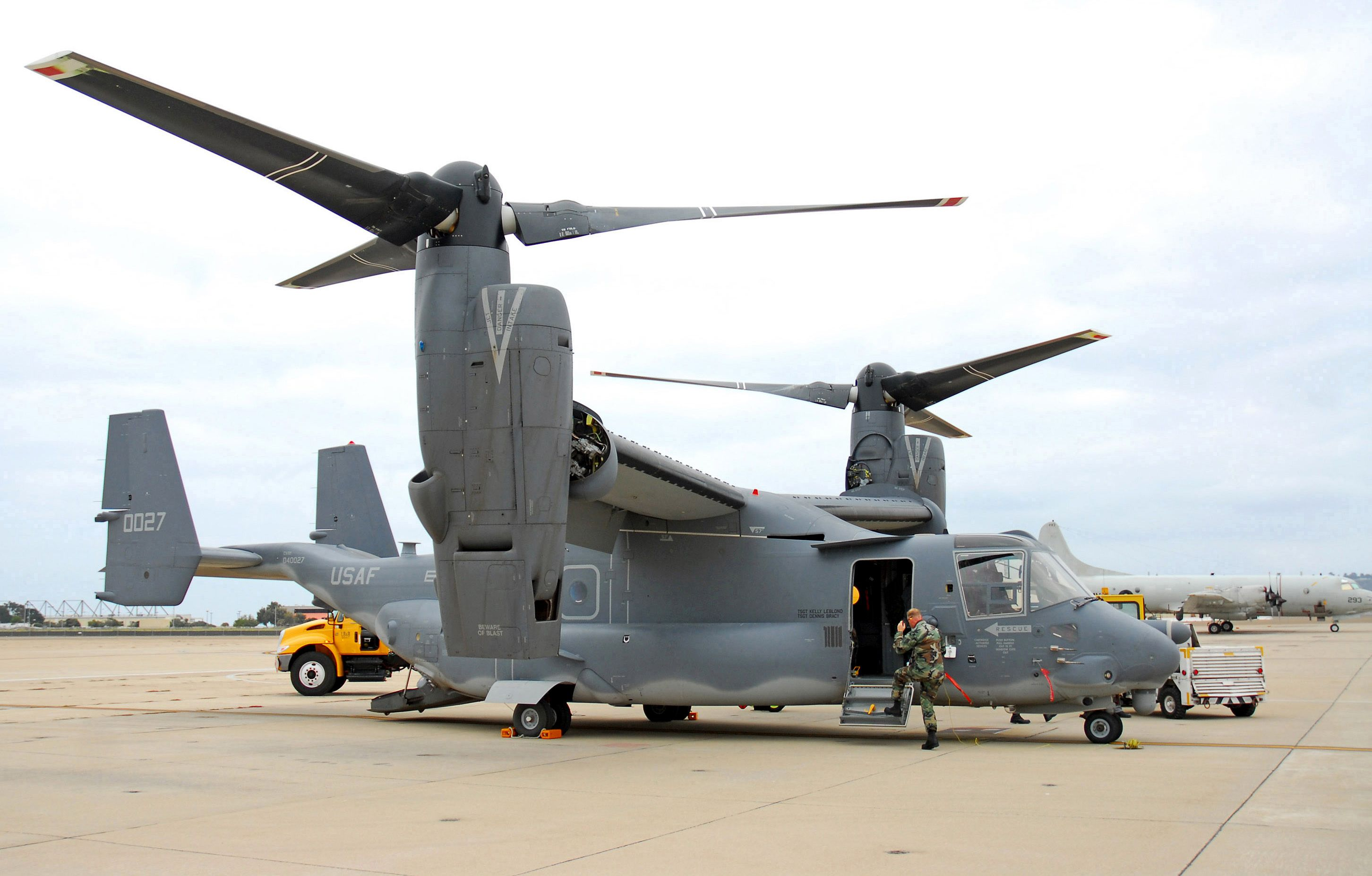The V-22 Osprey is the first aircraft designed from the ...