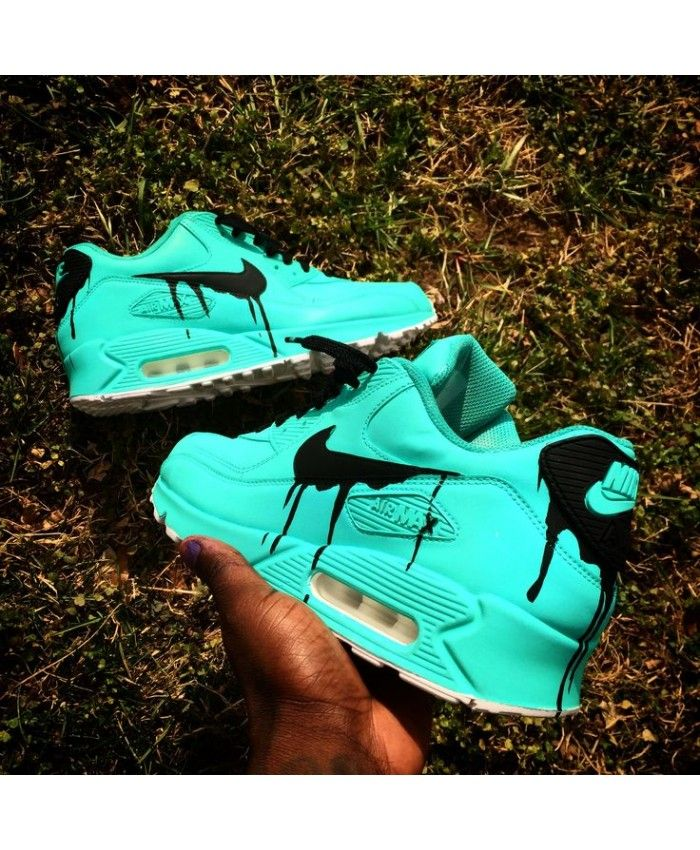 Nike Air Max 90 Candy Drip Aquamarine Black Sale