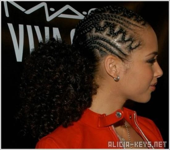 Let S Not Forget Sista Alicia Key And Her Previous Naturalhair Journey Afro Tastic Natural Hair Styles Braids With Beads Hair Styles
