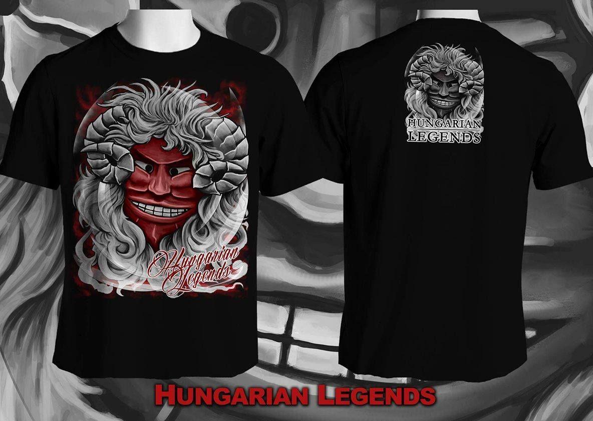 Hungarian Legends Busó fekete | Mens tops, Mens tshirts