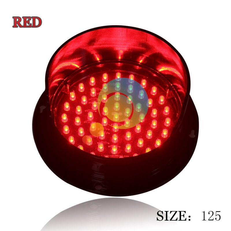 New Mould Mini Traffic Light For School Teaching Customized 125mm Traffic Lamp Cheap Led Traffic Signal Lamp Traffic Light Led Teaching