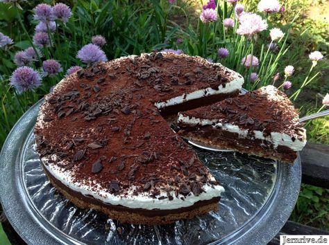 Schokoladentorte aus Norwegen - Aus meinem Kuchen und Tortenblog #japanischerkäsekuchen
