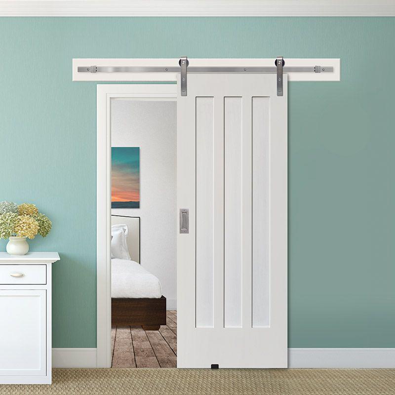 Craftsman 3 Panel Mdf Single Door Design On 2 Side In 2020 Single Door Design Door Design Barn Door Designs
