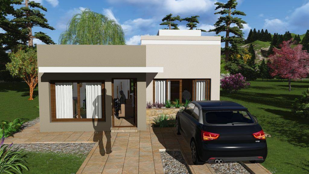 Resultado de imagen para fachadas de casas peque as y for Planos de casas pequenas y bonitas