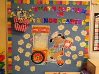 Circus bulletin board idea